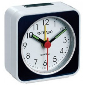 TRABO FA001B orologio da tavolo Digital table clock Black,White Round