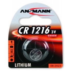 Ansmann 3V Lithium CR1216 Litio 3V batteria non-ricaricabile