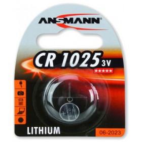 Ansmann 3V Lithium CR1025 Single-use battery Litio