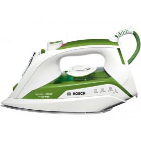 Bosch TDA502412E Ferro da stiro a secco e a vapore Ceramica 2400W Verde, Bianco ferro da stiro