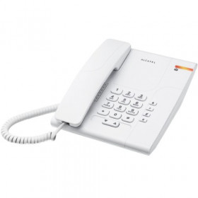 Alcatel Temporis 180 Telefono DECT Bianco Identificatore di chiamata