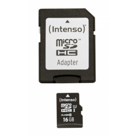 Intenso 16GB microSDHC memoria flash Classe 10 UHS-I