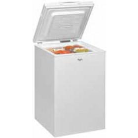 Whirlpool WHS1021 congelatore Libera installazione A pozzo Bianco 100 L A+
