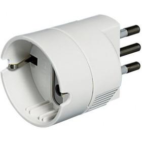 bticino S3623D Bianco adattatore per presa di corrente