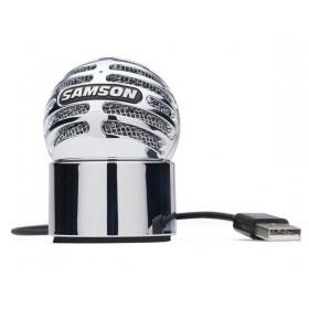 Samson Meteorite Notebook microphone Cablato Argento