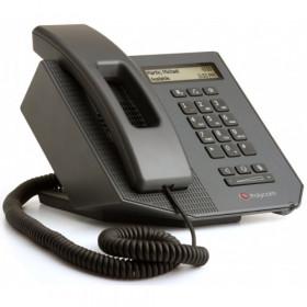 Polycom SoundPoint CX300 R2 telefono IP Nero Cornetta cablata