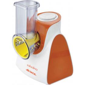 Ariete 1791 Arancione, Bianco sminuzzatore per insalata