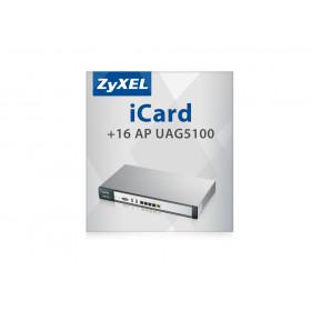 Zyxel iCard 16 AP UAG5100 16 licenza/e Aggiornamento