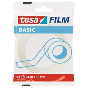 TESA Basic 66m Trasparente 1pezzo(i) cancelleria e nastro adesivo per ufficio