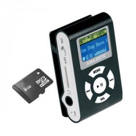 New Majestic SDB-8339 Lettore MP3 Nero 8 GB