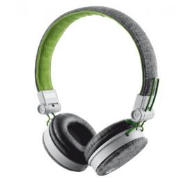 Urban Revolt Fyber Padiglione auricolare Stereofonico Cablato Verde, Grigio auricolare per telefono cellulare