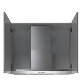Falmec Virgola Plus Cappa aspirante a parete 600m³/h Acciaio inossidabile