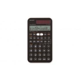 Sharp EL510RNB Tasca Calcolatrice scientifica Nero calcolatrice