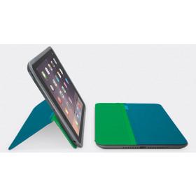 "Logitech AnyAngle 20,1 cm (7.9"") Cover Blu, Verde"