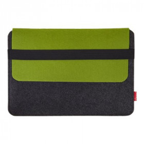 Tarifold Van Moose borsa per notebook Custodia a tasca Verde, Grigio