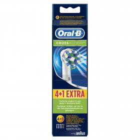 Oral-B Cross Action 4+1p 5 pezzo(i) Blu, Bianco