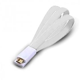 Atlantis Land 1.5m USB 2.0 A - Micro USB 2.0 B M/M 1.5m USB A Micro-USB B Maschio Maschio Bianco cavo USB