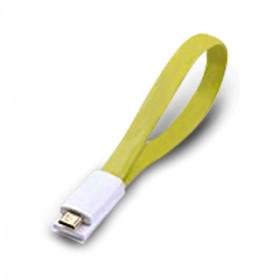 Atlantis Land 0.2m USB 2.0 A - Micro USB 2.0 B M/M 0.2m USB A Micro-USB B Maschio Maschio Verde cavo USB