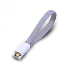 Atlantis Land 0.2m USB 2.0 A - Micro USB 2.0 B M/M 0.2m USB A Micro-USB B Maschio Maschio Grigio cavo USB