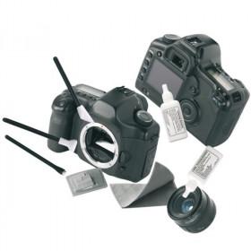 Reporter 10143 kit per la pulizia Panni asciutti e liquido per la pulizia dell'apparecchiatura Obiettivi/Vetro