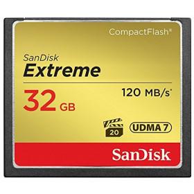 Sandisk 32GB Extreme 32GB CompactFlash memoria flash