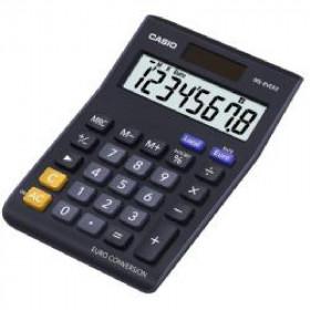 Casio MS-8VERII calcolatrice Scrivania Calcolatrice di base Nero