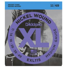 D'Addario EXL115 corda per strumenti musicali Chitarra Elettrico