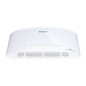 D-Link DGS-1005D/E switch di rete Non gestito L2 Gigabit Ethernet (10/100/1000) Bianco