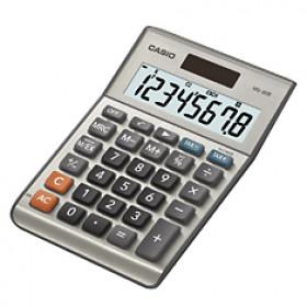 Casio MS-80B Scrivania Calcolatrice di base Argento calcolatrice