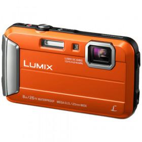 """Panasonic Lumix DMC-FT30 Fotocamera compatta 16,1 MP 1/2.33"""" CCD 4608 x 3456 Pixel Arancione"""
