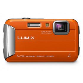 """Panasonic Lumix DMC-FT30 Fotocamera compatta 16,1 MP CCD 4608 x 3456 Pixel 1/2.33"""" Arancione"""