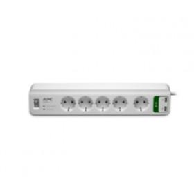 APC PM5U-GR 6presa(e) AC 230V 1.83m Bianco protezione da sovraccarico