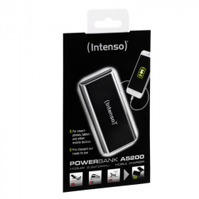 Intenso A5200 batteria portatile Nero Ioni di Litio 5200 mAh