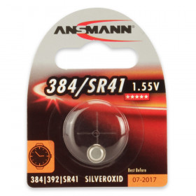 Ansmann 1516-0020 Argento-Ossido 1.5V batteria non-ricaricabile