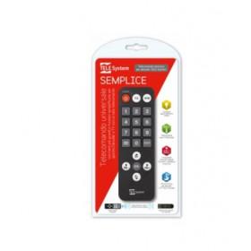 TELE System 58040112 Pulsanti Nero telecomando