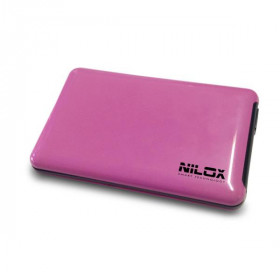 "Nilox DH0002FU Enclosure HDD 2.5"" Rosa storage drive enclosure"