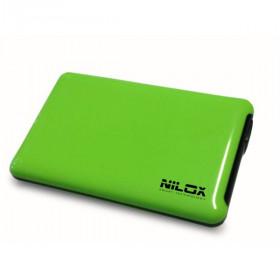 """Nilox DH0002GA contenitore di unità di archiviazione 2.5"""" Enclosure HDD Rosa"""