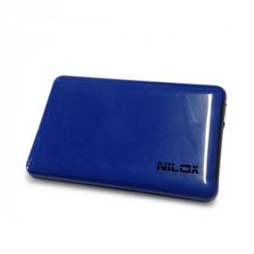 "Nilox DH0002BL contenitore di unità di archiviazione 2.5"" Enclosure HDD Blu"