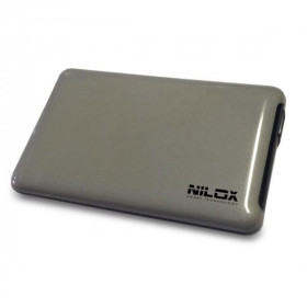 "Nilox DH0002SL Enclosure HDD 2.5"" Grigio storage drive enclosure"