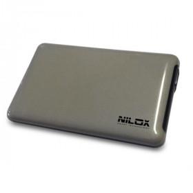 """Nilox DH0002SL contenitore di unità di archiviazione 2.5"""" Enclosure HDD Grigio"""