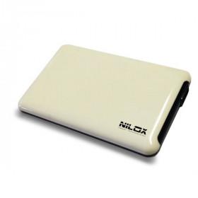 """Nilox DH0002WH contenitore di unità di archiviazione 2.5"""" Enclosure HDD Bianco"""