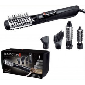 Remington AS1220 Hot air brush Caldo Nero, Argento 1200W 3m messa in piega