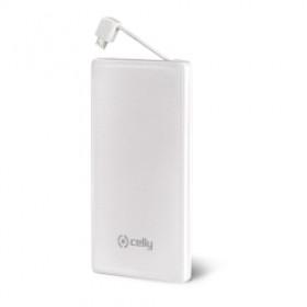 Celly PB3000WH Polimeri di litio (LiPo) 3000mAh Bianco batteria portatile