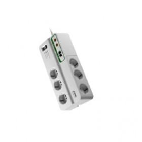 APC PMH63VT-IT 6presa(e) AC 230V 3m Bianco protezione da sovraccarico