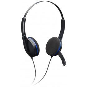 Bigben Interactive PS4GAMINGHEADSET Stereofonico Padiglione auricolare Nero, Blu cuffia e auricolare
