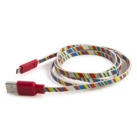 Tucano 1.2m USB 2.0 cavo USB 1,2 m Micro-USB B USB A Multicolore