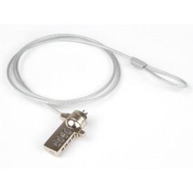Hamlet Notebook Lock cavo di sicurezza per pc e notebook con lucchetto e combinazione di 120m in acciaio