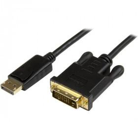 StarTech.com Cavo convertitore DisplayPort a DVI da 91 cm - Adattatore DP a DVI-D - Nero 1920x1200 M/M