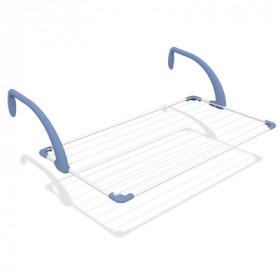 Gimi Brezza 100 Stendino attaccabile Blu, Bianco
