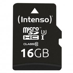 Intenso 3433470 memoria flash 16 GB MicroSDHC Classe 10 UHS-I